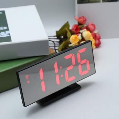 ใหม่อัพเกรดดิจิตอลนาฬิกาปลุก LED นาฬิกา