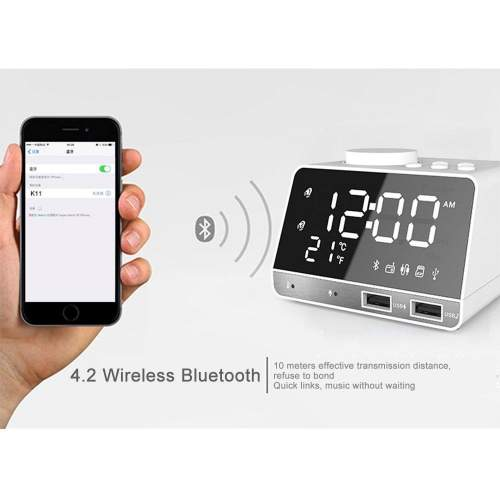 Aolvo Digital Alarm Clock