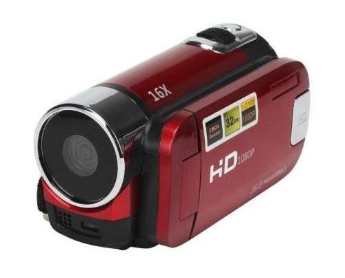 Camera กล้องวิดีโอสี: สีแดง
