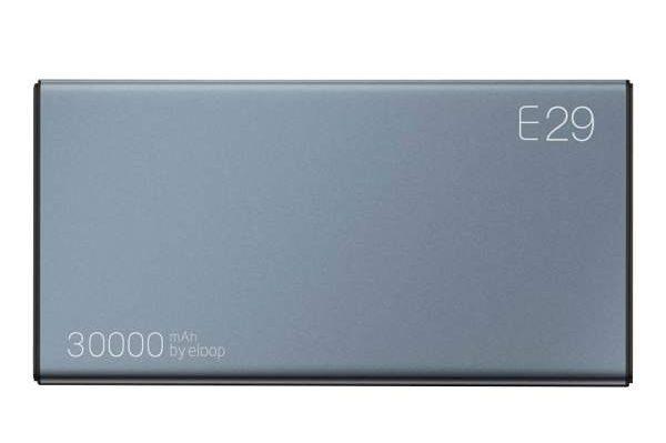 Eloop E29 Power Bank แบตเตอรี่สำรอง 30,000mAh