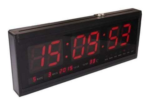 LED Digital Number Clock