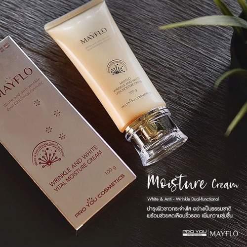 Mayflo Wrinkle And White Vital Moisture Cream