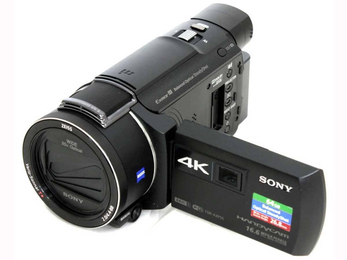Sony รุ่น FDR-AXP55 4K HD
