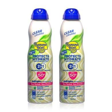 Banana Boat Ultramist Protect & Hydrate SPF50+