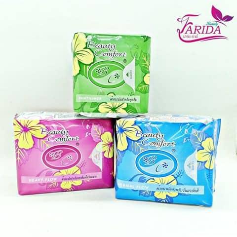 Beauty Comfort ผ้าอนามัยสมุนไพร sanitary napkin