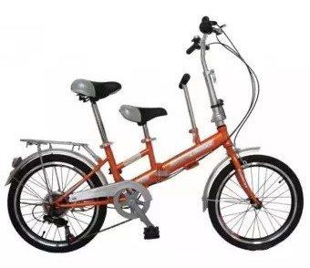 PSB NET จักรยานพับได้ TANDEM 6SP