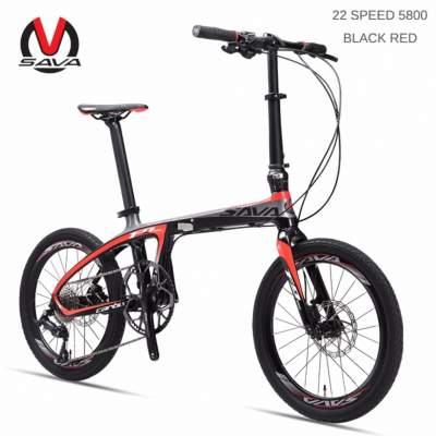 SAVA จักรยานพับได้คาร์บอนไฟเบอร์