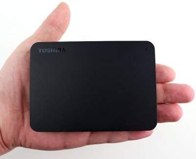 TOSHIBA Canvio Basics USB 3.0 external hard disk