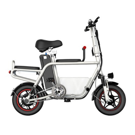 JIESUQI White E Bike