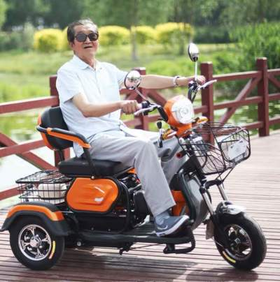 LUALE V10 จักรยานไฟฟ้า 3 ล้อ
