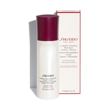 Shiseido Complete Cleansing Micro Foam โฟมล้างหน้า