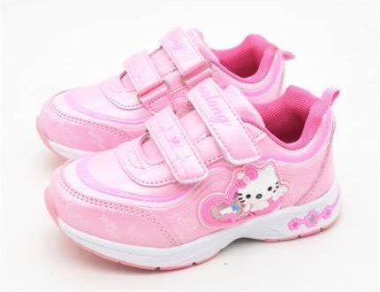 รองเท้าผ้าใบเด็กลวดลายการ์ตูน