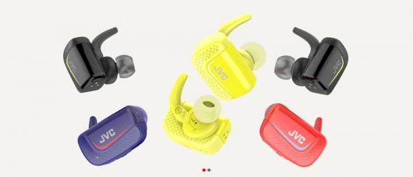 JVC HA-ET900BT Truly wireless sport headphones หูฟังไร้สายบลูทูธ