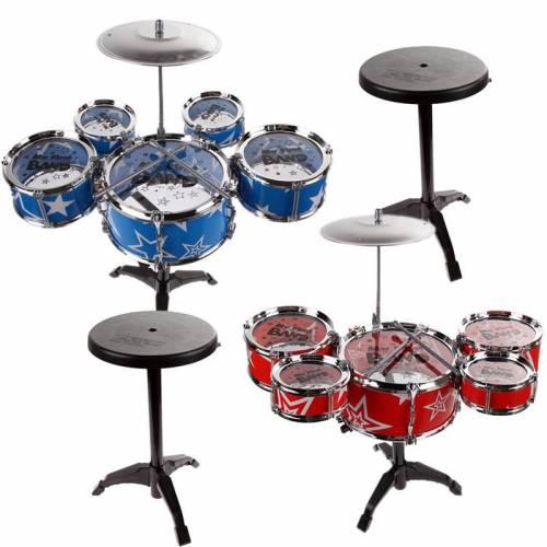 BaByBlue Toy Drum Set