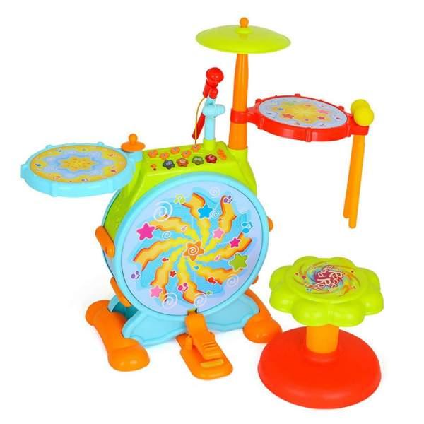 Huile Electronic Children Drum Set