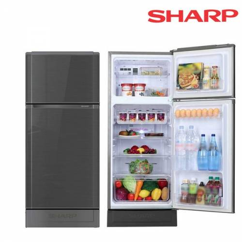 SHARP SJ-C19E ตู้เย็น 2 ประตู