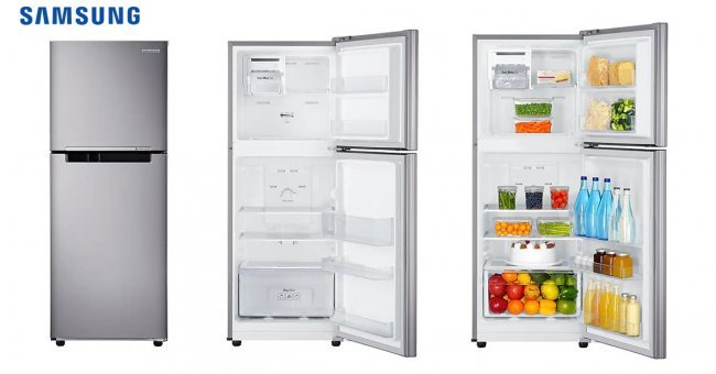 Samsung ตู้เย็น 2 ประตู RT20HAR1DSA