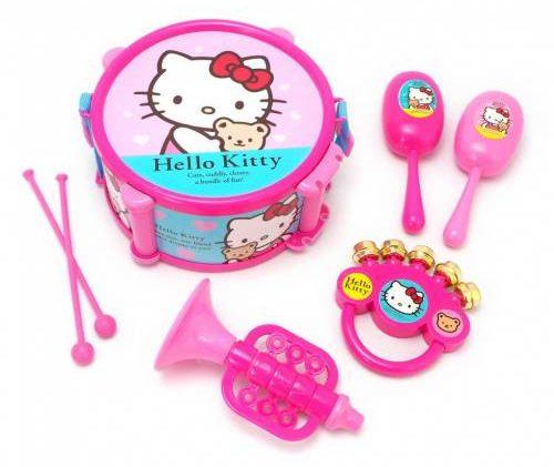 thetoy Hello Kitty ชุดดนตรี คิตตี้ ลายลิขสิทธิ์แท้ ขนาด