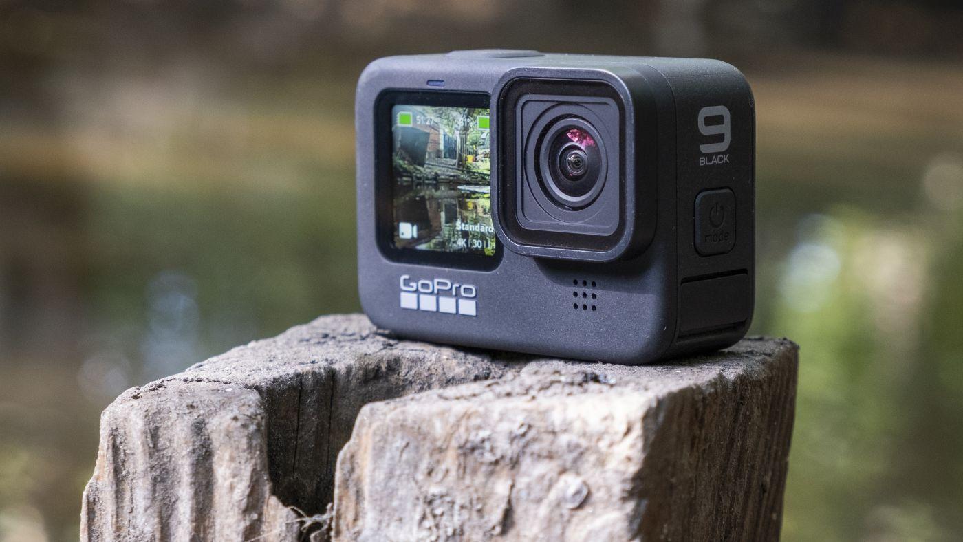 กล้องแอคชั่น Gopro ในสภาพแวดล้อมกลางแจ้งที่สวยงาม