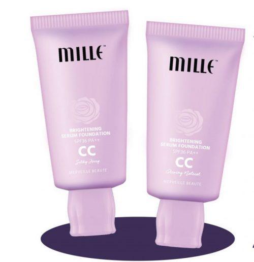 Mille Brightening Serum Foundation CC Cream
