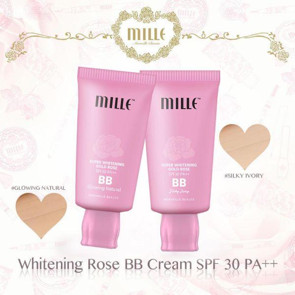 Mille Super Whitening Gold Rose BB Cream