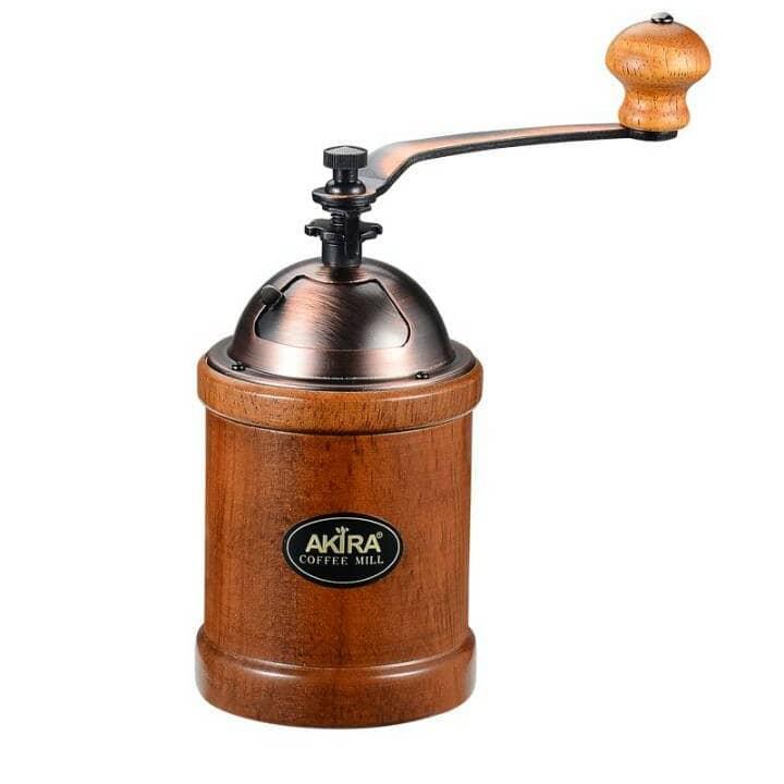 Akira Coffee Mill ที่บดกาแฟมือหมุนหงาย