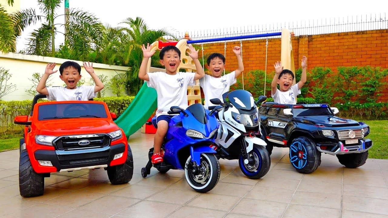 เคล็ดลับในการซื้อรถของเล่นสำหรับเด็กแต่ละวัย