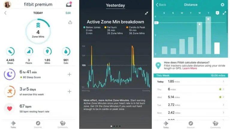 แอปพลิเคชั่นการนอนหลับสำหรับ Fitbit Charge 4