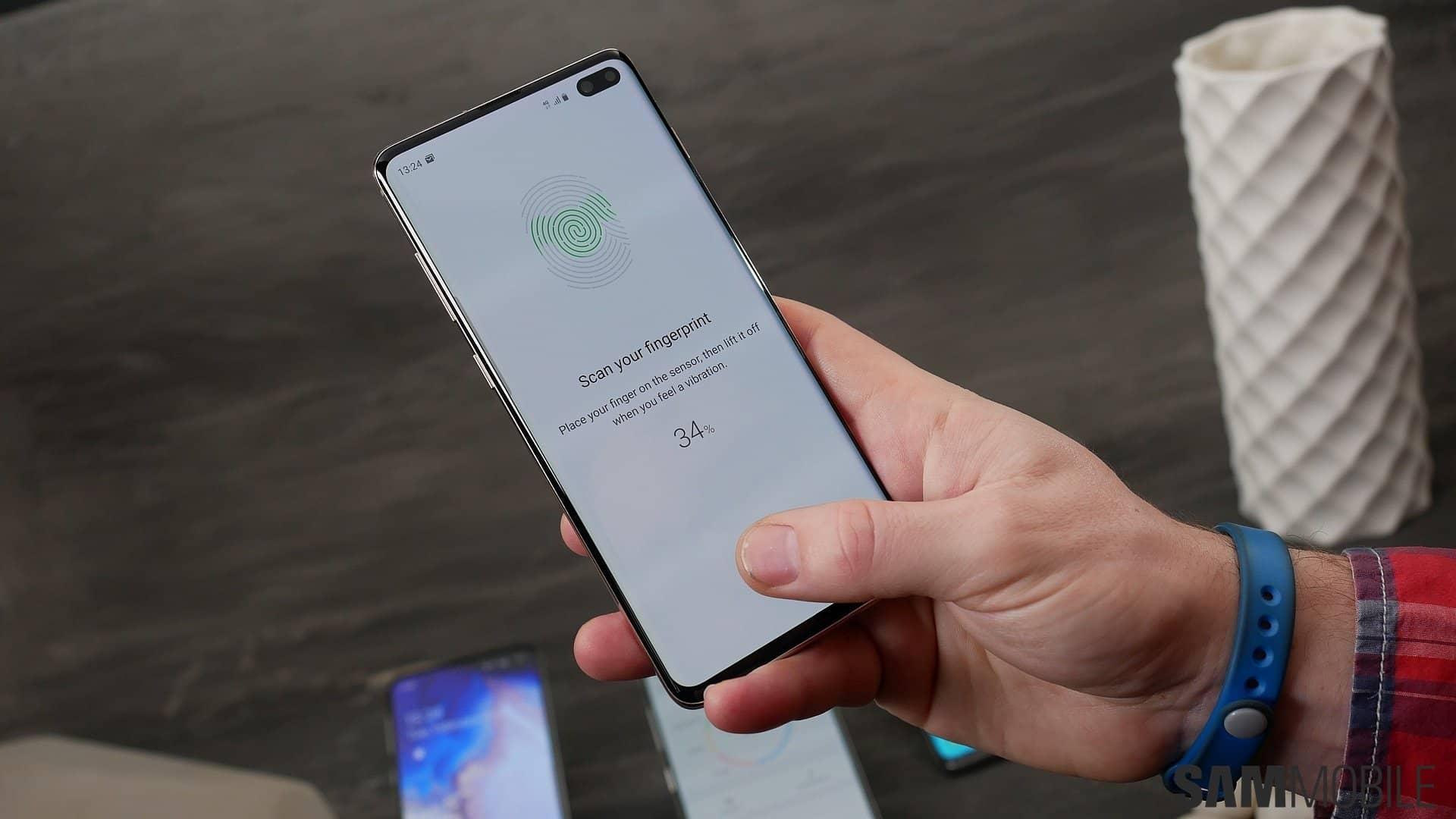 Android vs iPhone - in-screen fingerprint sensors