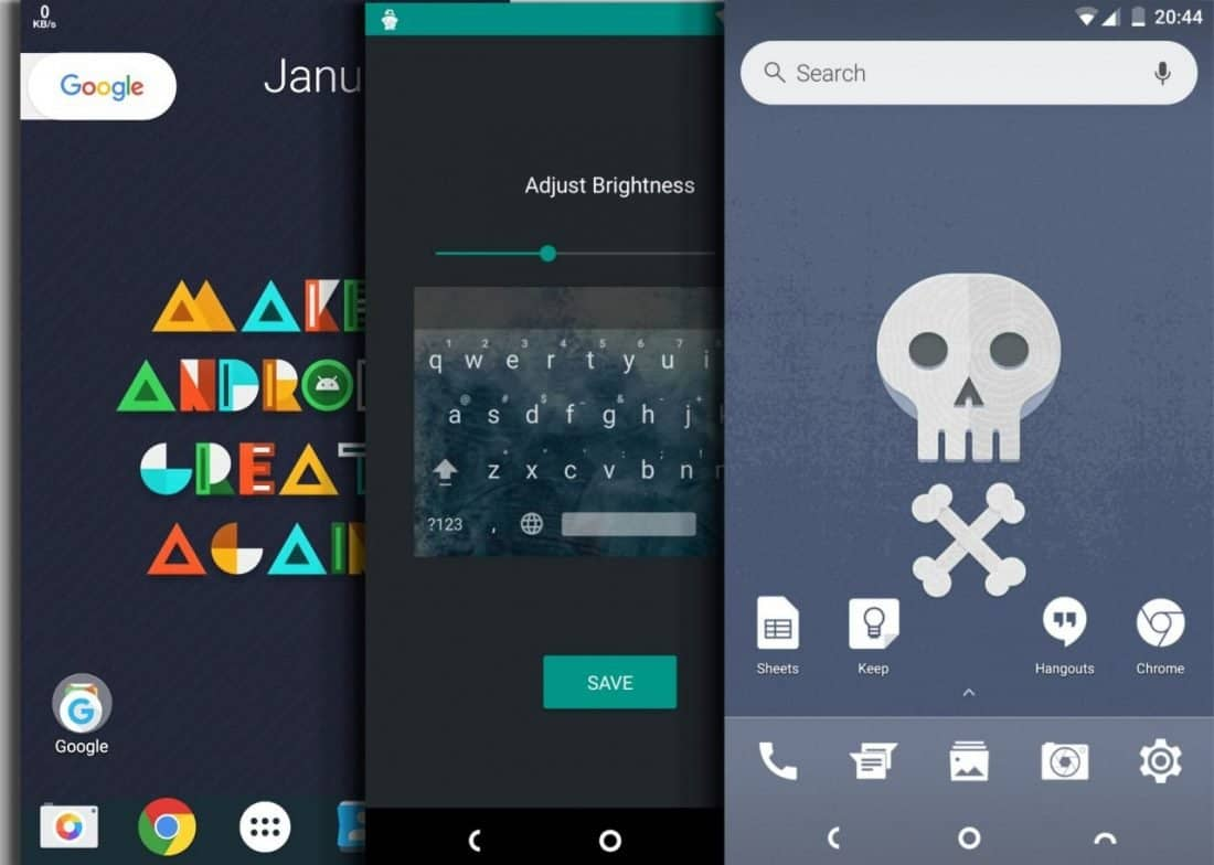 Android vs iPhone - หน้าจอหลักที่ปรับแต่งได้ของซัมซุง