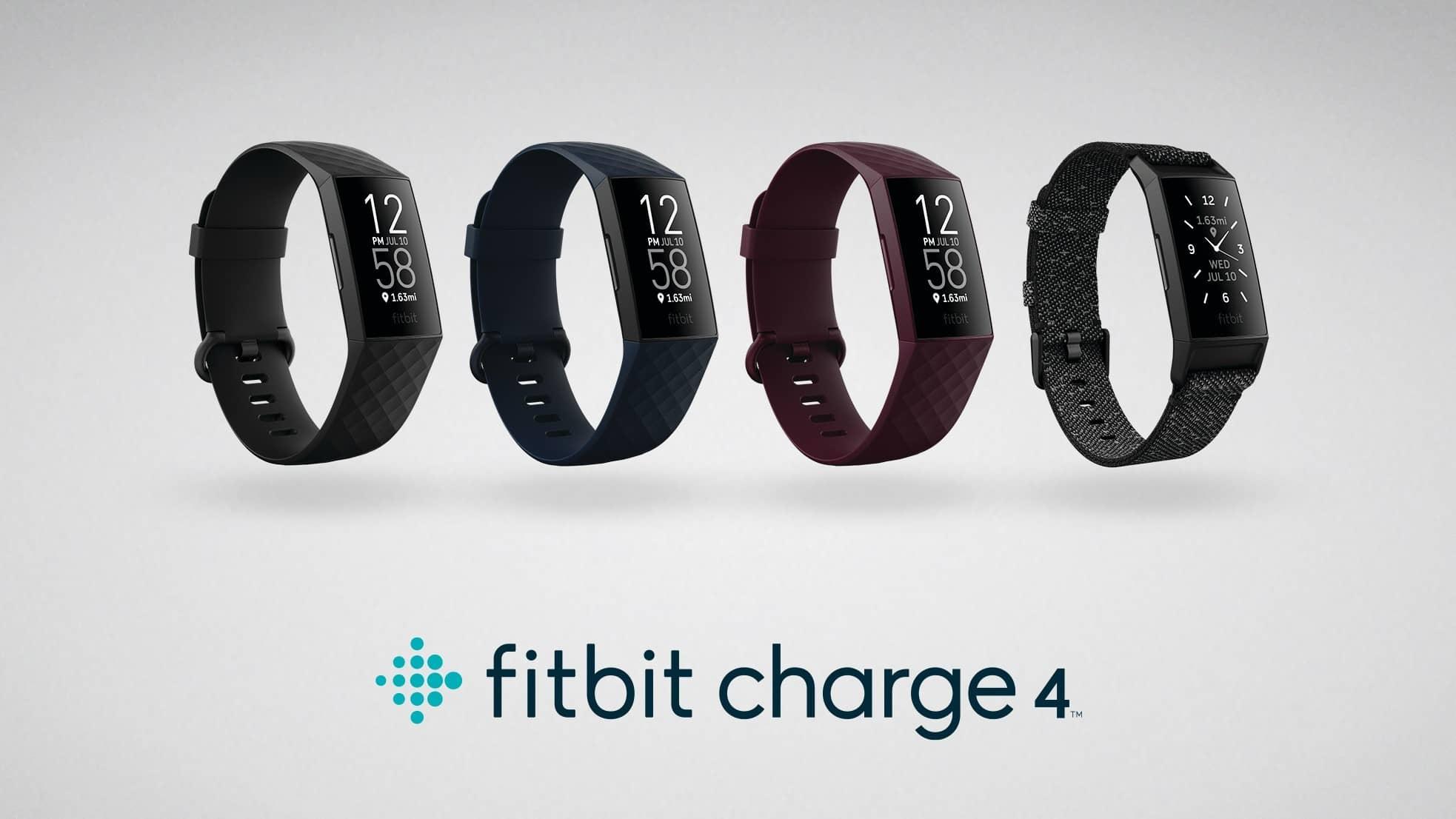 ดีไซน์ของ Fitbit Charge 4