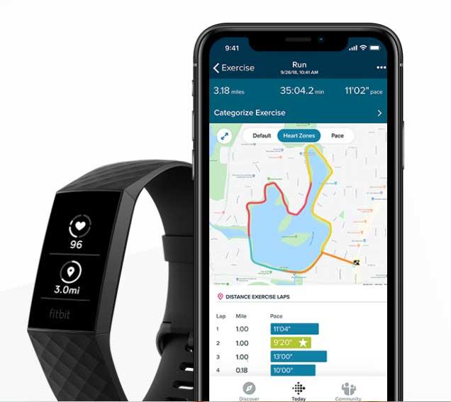Fitbit Charge 4: คุณสมบัติสมาร์ทวอทช์