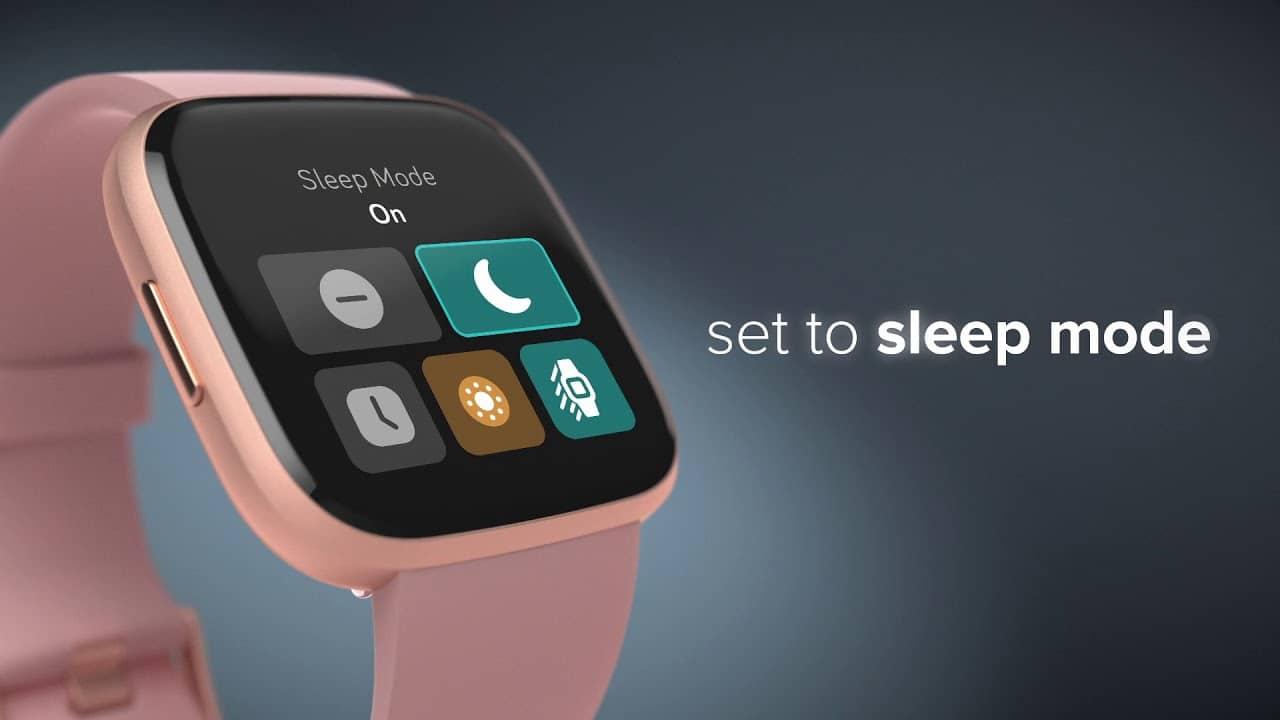 รีวิว Fitbit Versa 2: การติดตามการนอนหลับ