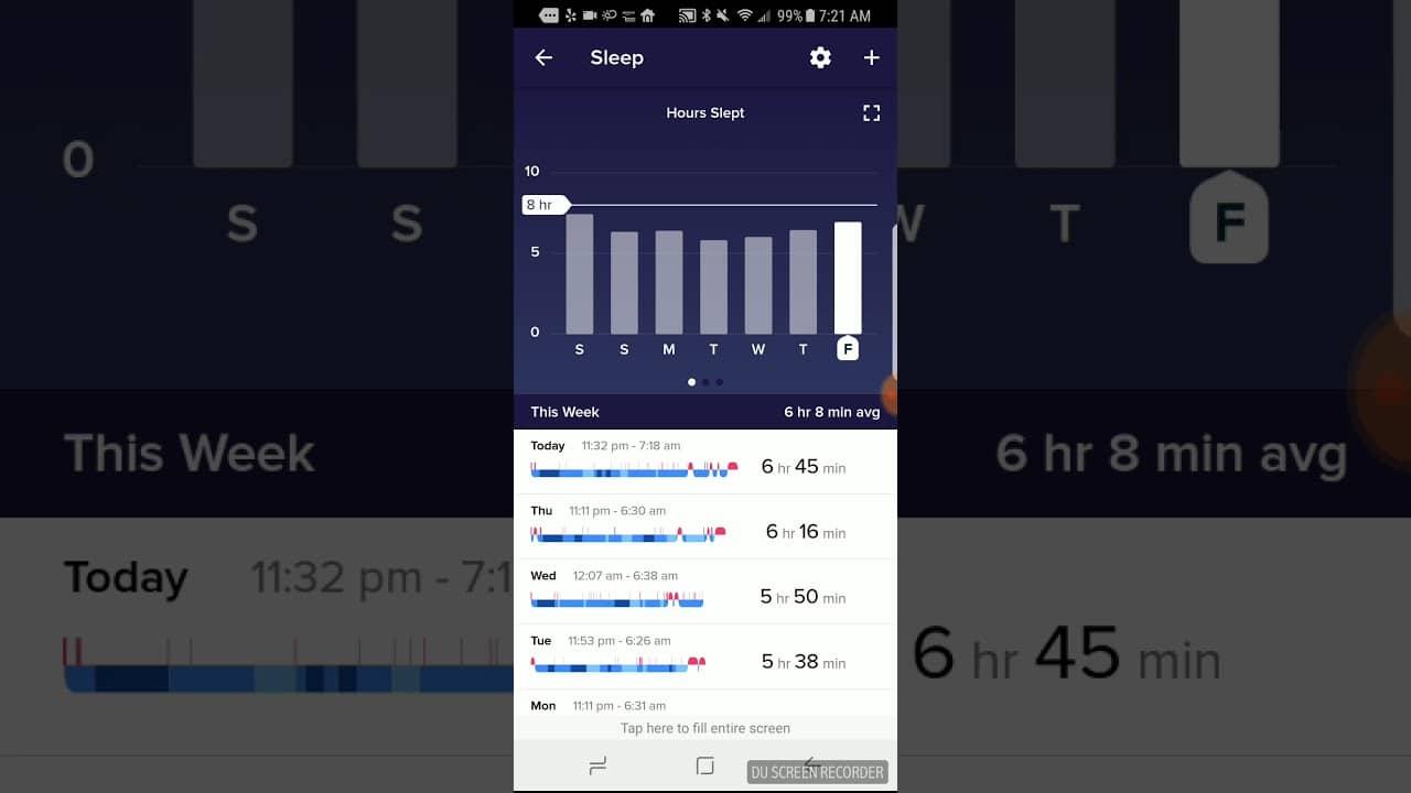 รีวิว Fitbit Versa 3: การติดตามการนอนหลับ