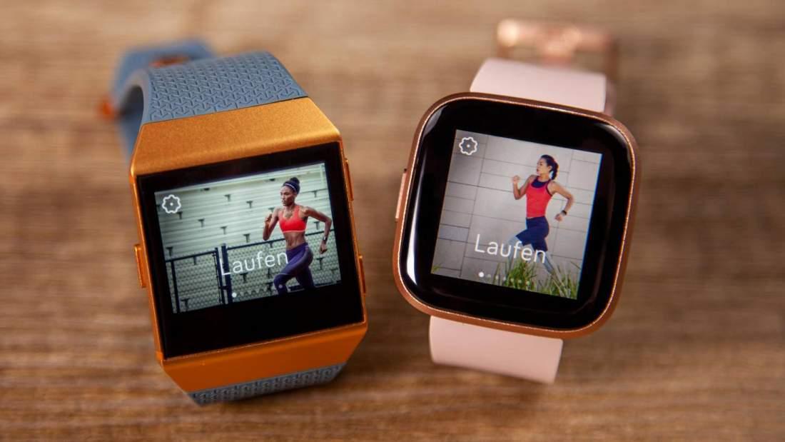 รีวิว Fitbit Versa 2: จอแสดงผล