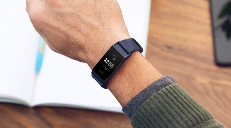 ดีไซน์ของ Fitbit Charge 4 watch