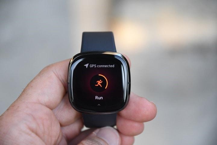 Fitbit Sense: การติดตามความฟิตของร่างกายและการเล่นกีฬา