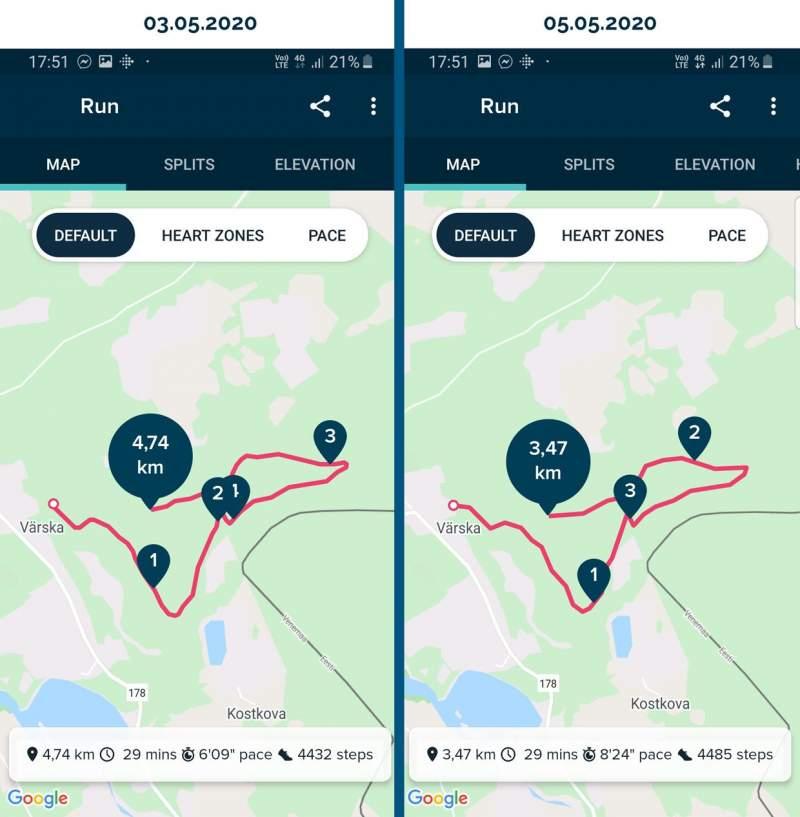 รีวิว Fitbit Versa 2 ระบบ GPS