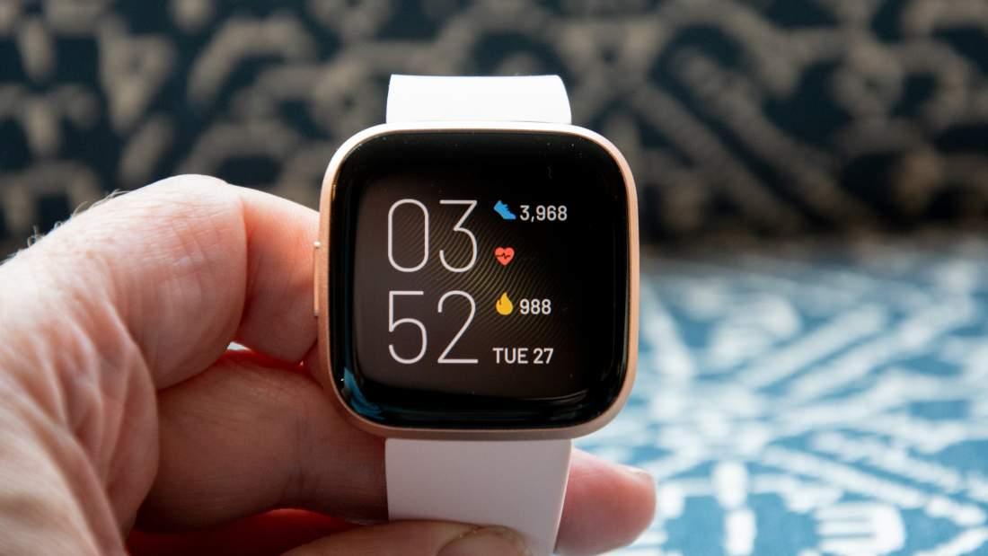 รีวิว Fitbit Versa 2: การออกแบบ