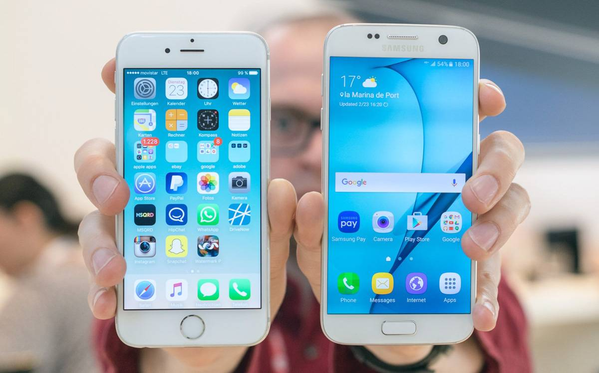 iPhone iOS กับ Android อันไหนดีกว่ากัน