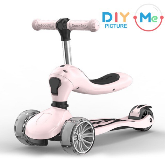 Scooter LED สำหรับเด็กชนิด 2 in 1